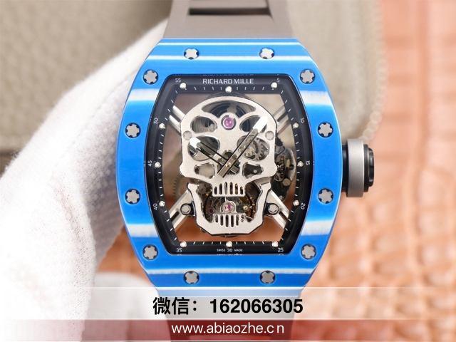 手表拆解:JB厂理查德米勒RM53-01陀飞轮和600万正品相距很大吧?
