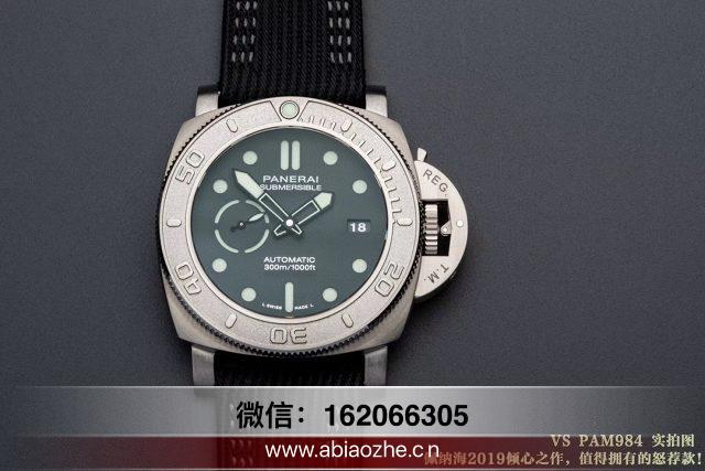 手表测评:VS厂沛纳海PAM984优缺点在哪?